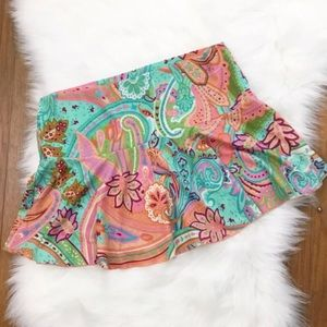 [Victoria's Secret] Paisley Printed Swim Skirt